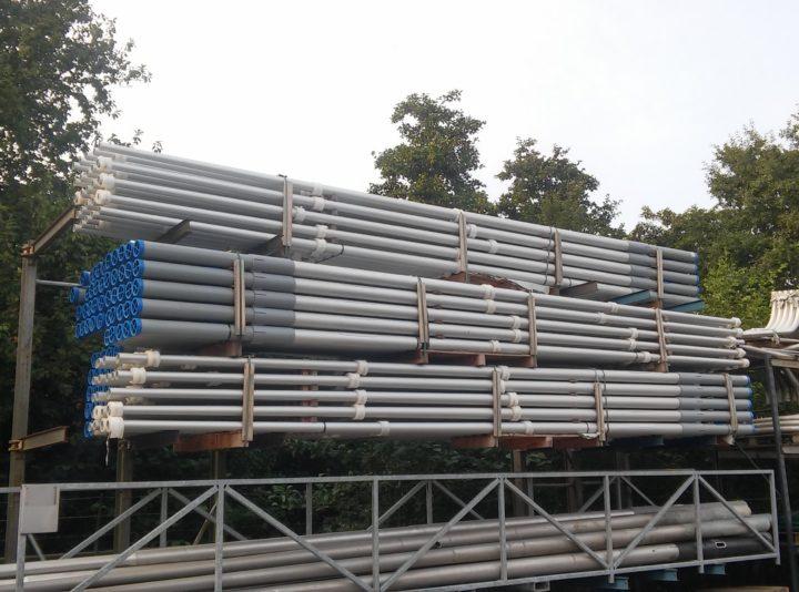 aluminium paaltop masten 6 m lichtpunt hoogte